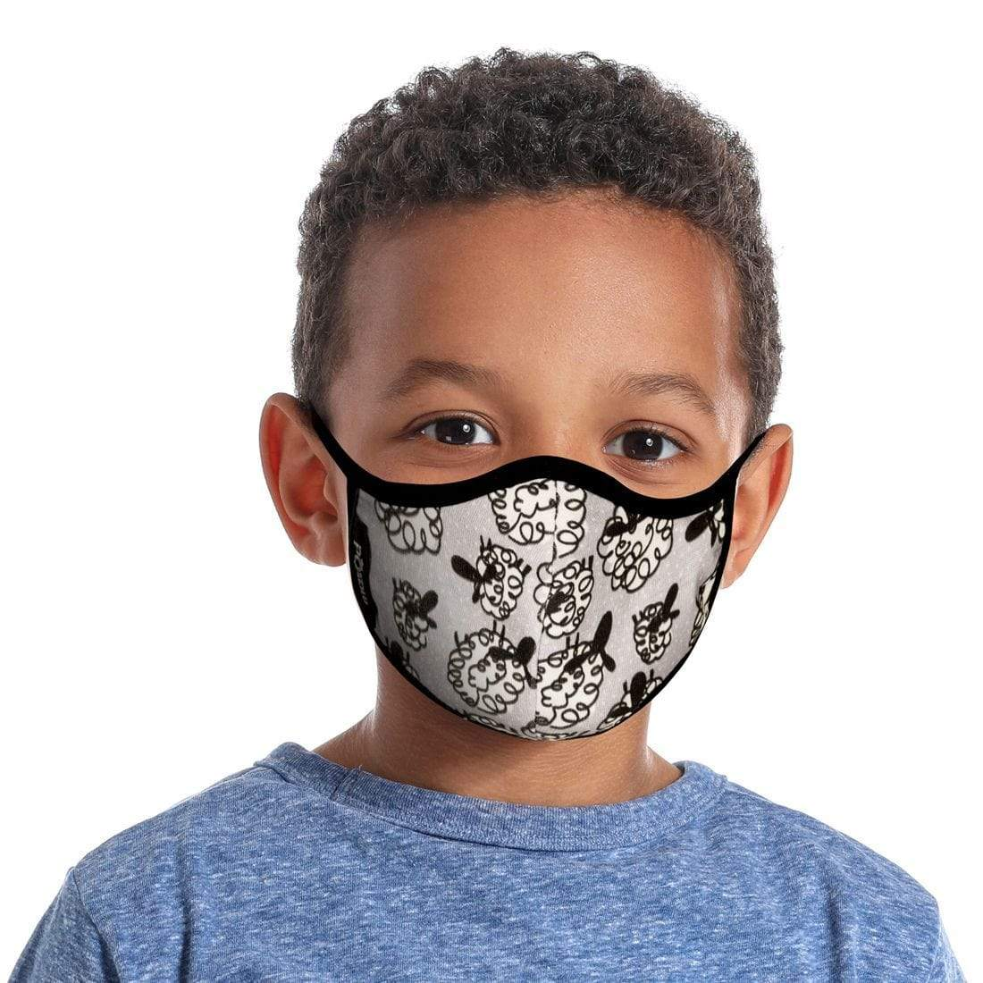 Counting Sheep Face Mask - Kids ( Organic Cotton )