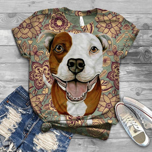 Perfect T-shirt For American Staffordshire Terrier Lovers - 1
