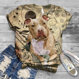 Perfect T-shirt For American Staffordshire Terrier Lovers