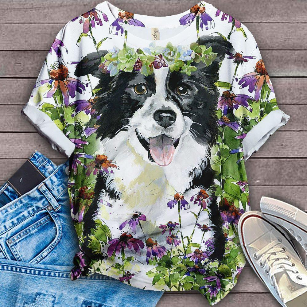 PERFECT T SHIRT FOR BORDER COLLIE LOVERS - BLACK
