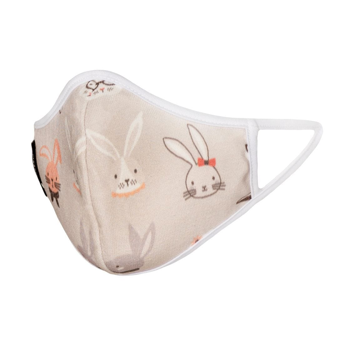 Bunny Face Mask - Kids ( Organic Cotton )