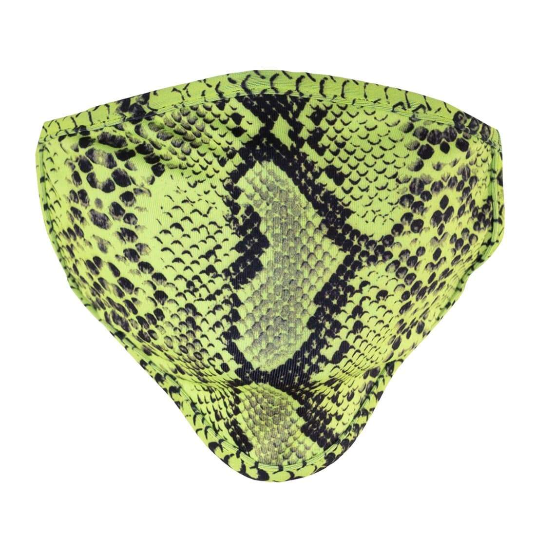 Neon Python Face Mask