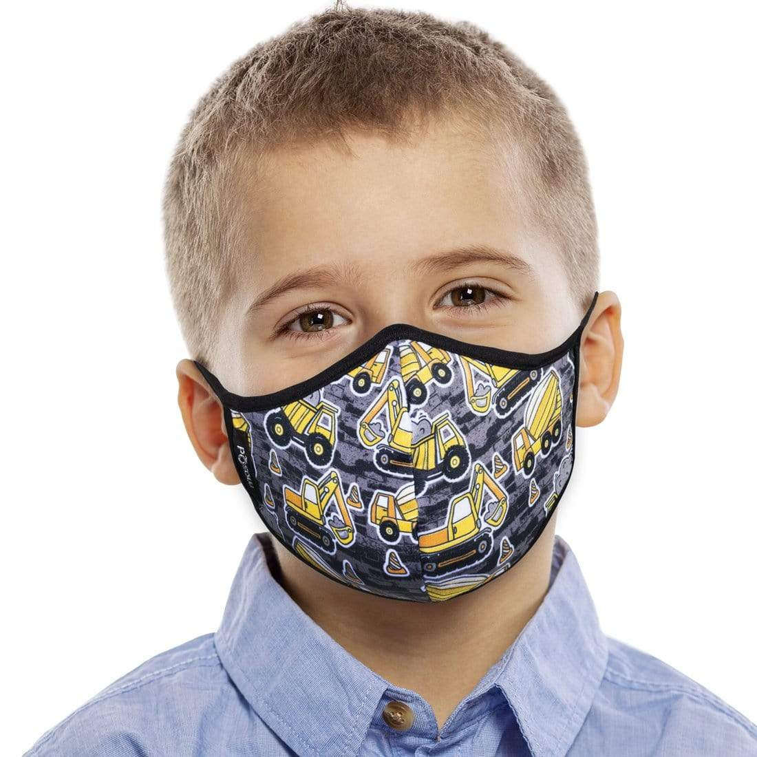 Construction Face Mask - Kids
