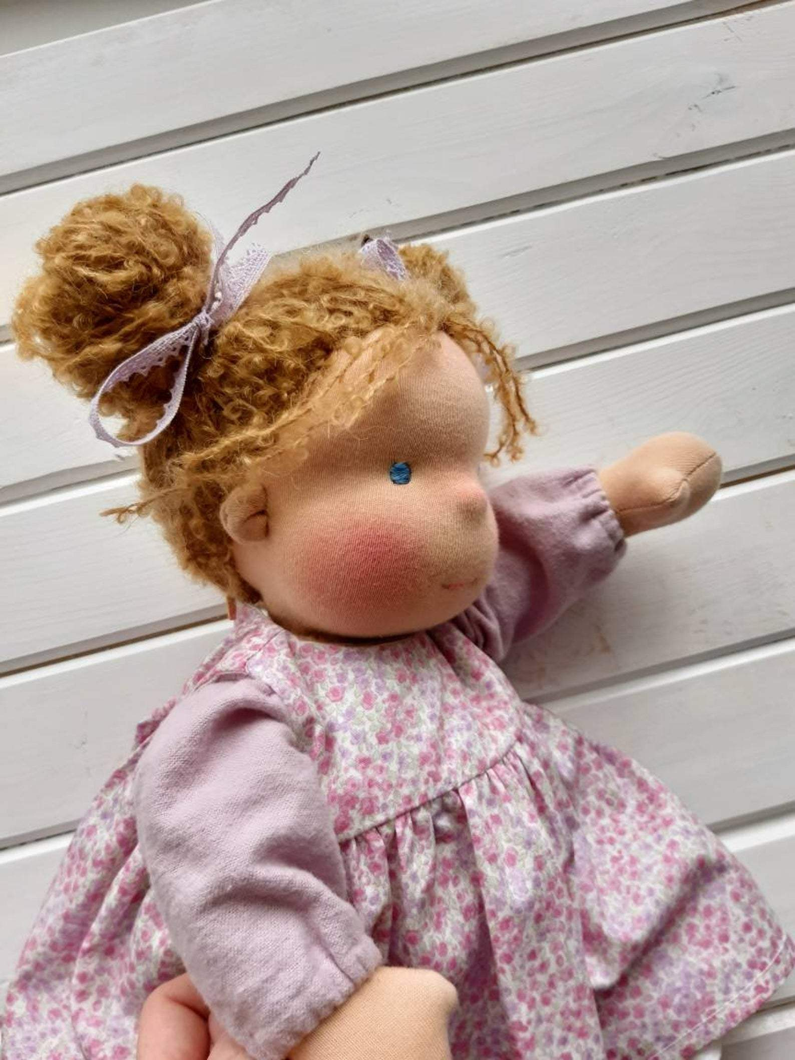 Custom Order Waldorf Doll With Big Set Of Clothes And Accessories