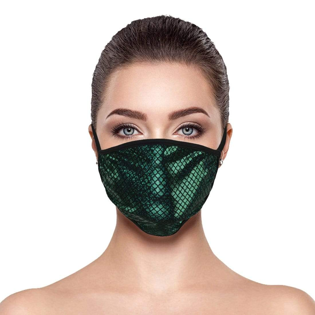 Emerald Mermaid Face Mask
