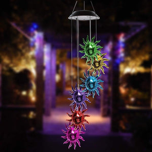 [Presale] Solar Powered Sunflowers Wind Chime Lights