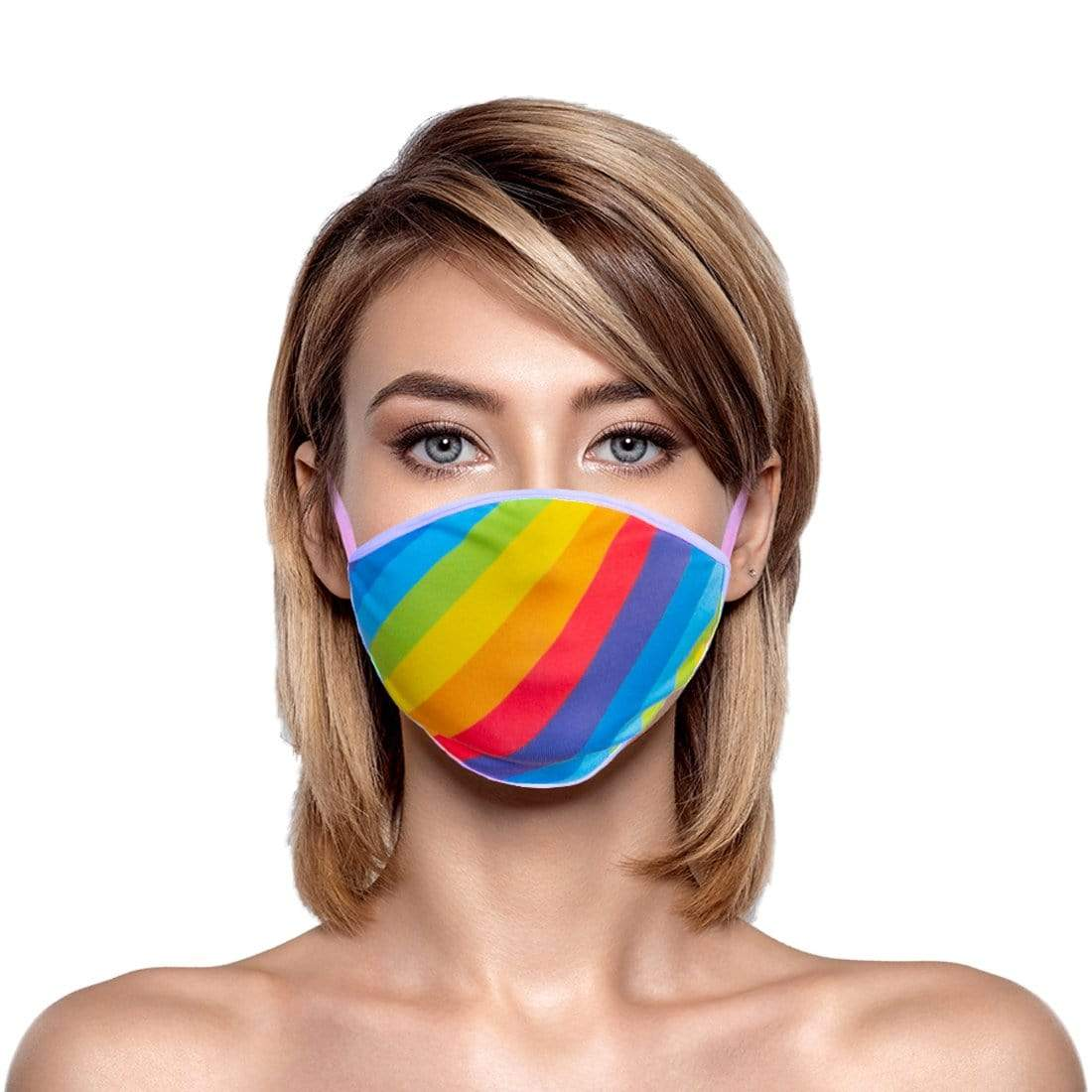 Rainbow Flag Face Mask