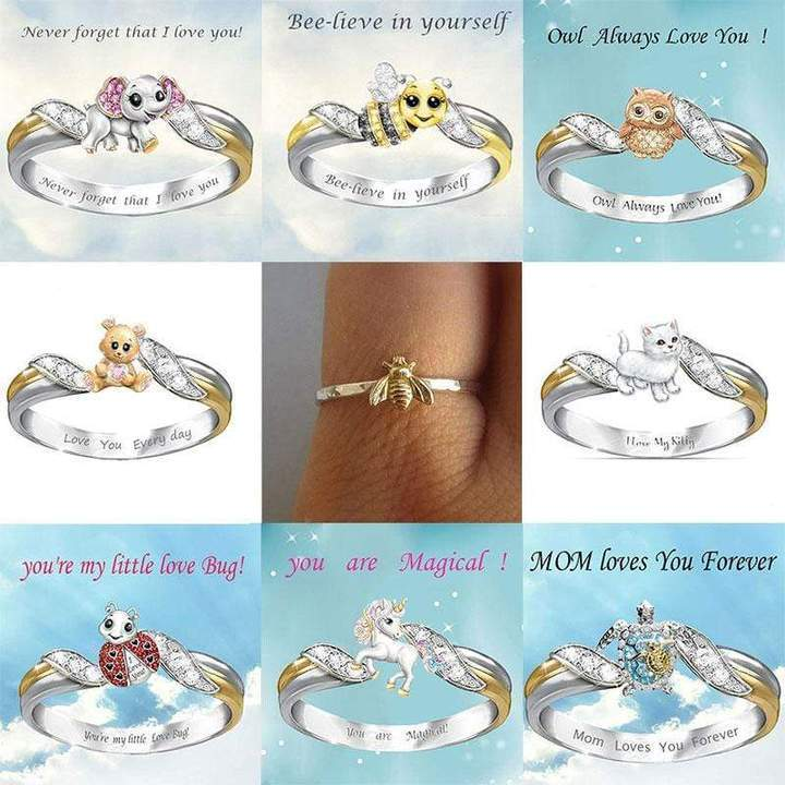 Cute Animal Birds Rings-(choose your favorite style)