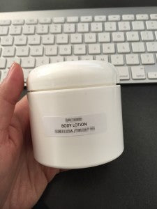 new sS body lotion in the works!
