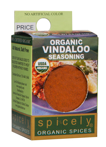 spicely organic vindaloo curry powder