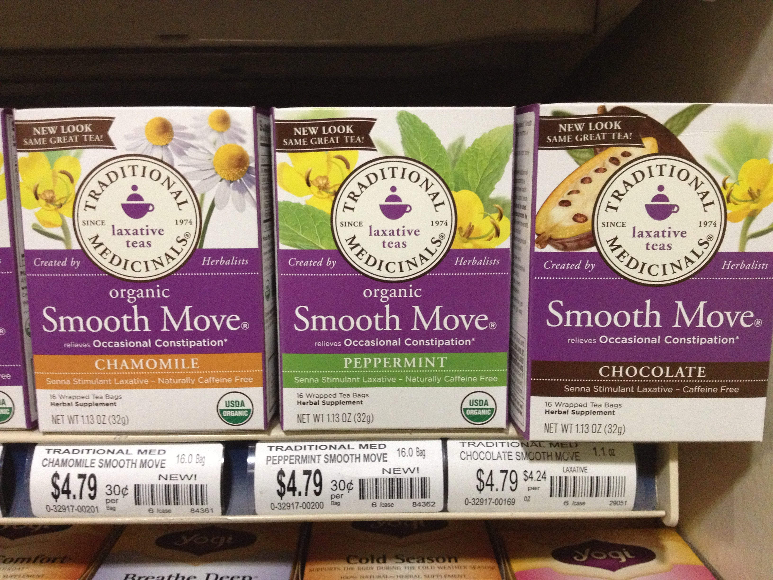 smooth move teas at rainbow grocery