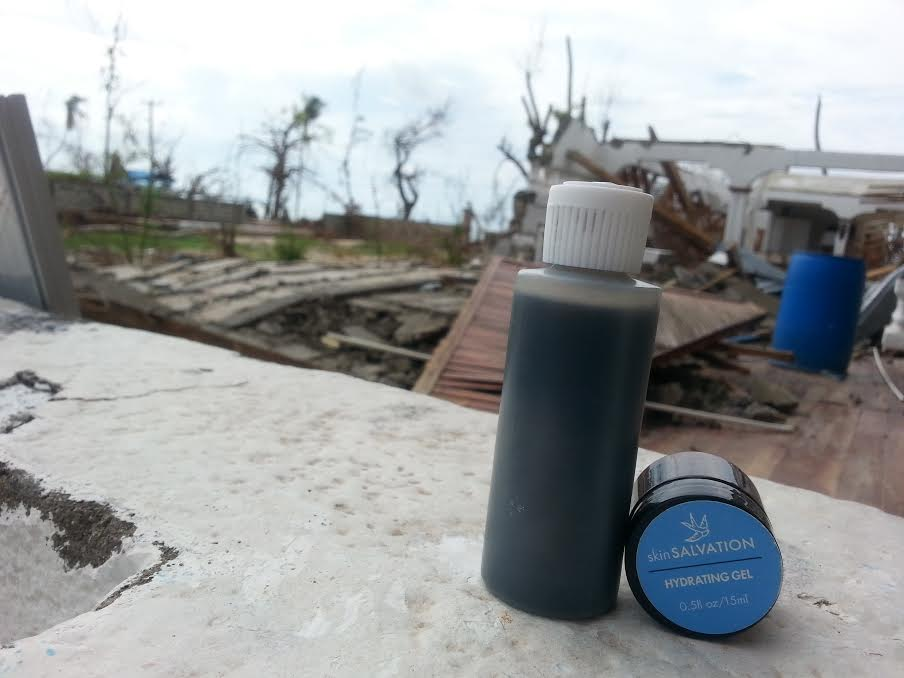 sS client brings charcoal cleanser and moisturizer with her on medical mission to Haiti!
