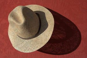 sunhat photographed by chris booth