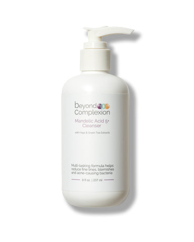 beyond complexion mandelic acid 5+ gel cleanser