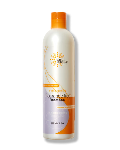 earthscience fragrance-free shampoo