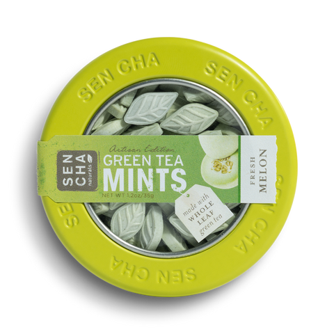 Green Tea Mint Canisters