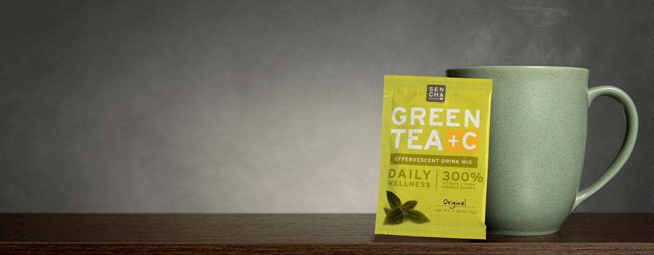 Try Green Tea +C with Immune Support for Daily Wellness