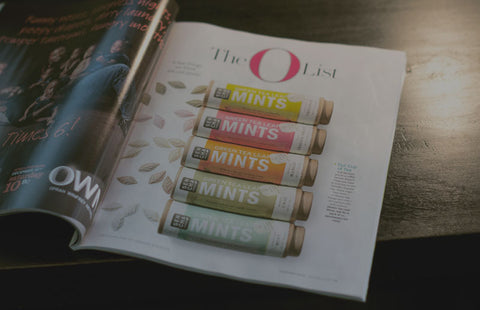 O Magazine O List Featuring Sencha Naturals Green Tea Mints