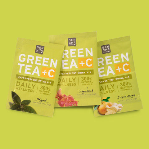 Green Tea (+C) 101- Better-for-You Immune Support