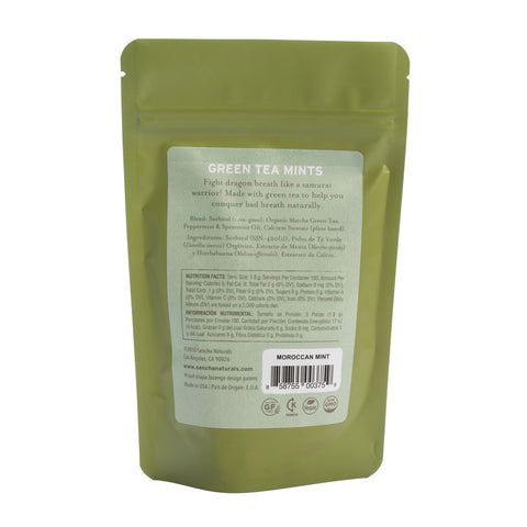 Green Tea Mints - Moroccan Mint | Bulk Refill Bags