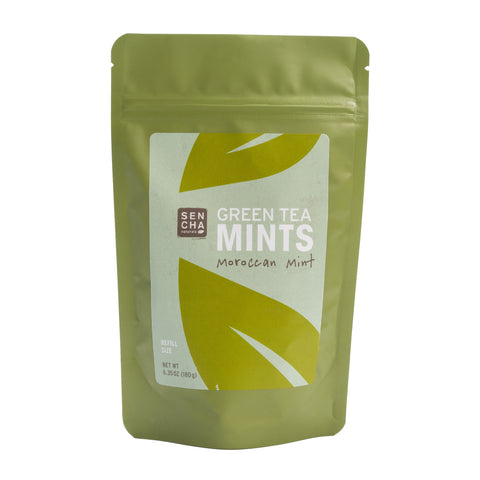 Moroccan Mint, Green Tea Mints, Refill Bag