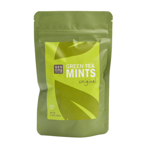 Original, Green Tea Mints, Tip'N'Try Teapot