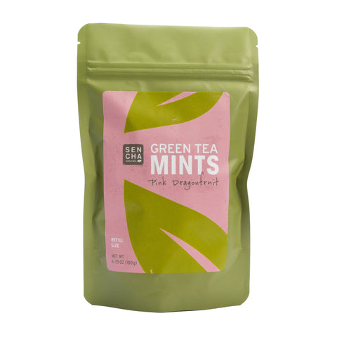 Tip'N'Try Teapot | Green Tea Mints - Pink Dragonfruit