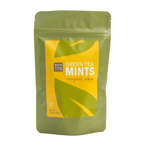 Tip'N'Try Teapot | Green Tea Mints - Tropical Mango