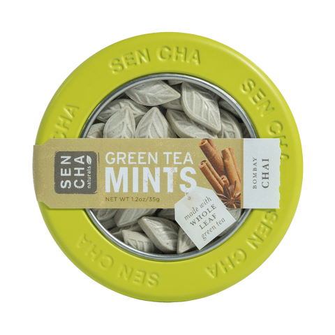 Green Tea Mints - Canister | 6 Pack
