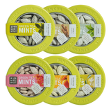 Green Tea Mints - Variety | Mint Canister 6 Pack