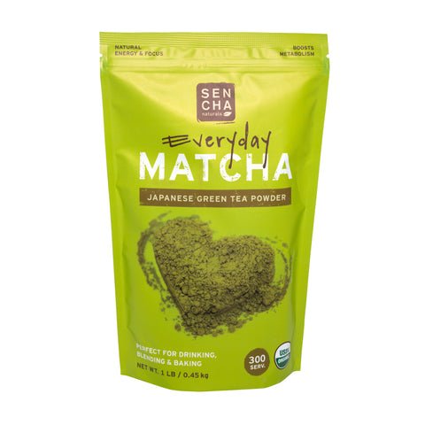 Everyday, Organic Matcha Powder, 1 lb bag