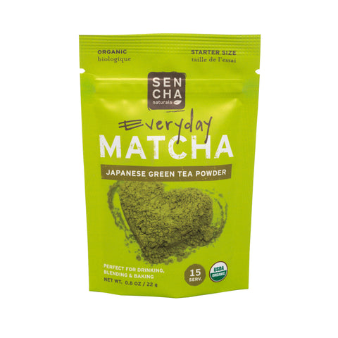 Everyday, Organic Matcha Powder, starter size