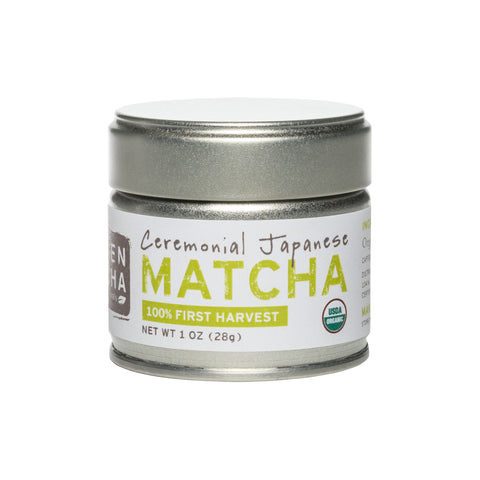 Ceremonial Grade, Organic Matcha Powder, 1 oz tin