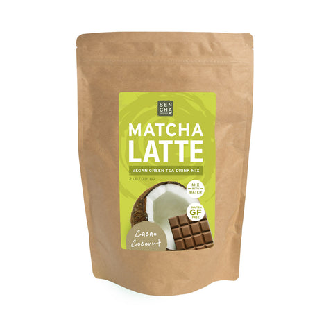Cacao Coconut, Matcha Latte, 2 lb Bag