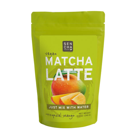 Tropical Mango, Matcha Latte, 8.5 oz Bag