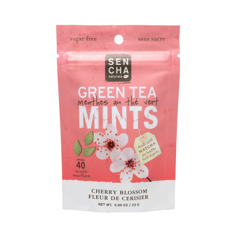 Cherry Blossom, Green Tea Mints, Pocket Mints