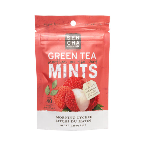 Morning Lychee, Green Tea Mints, Pocket Mints