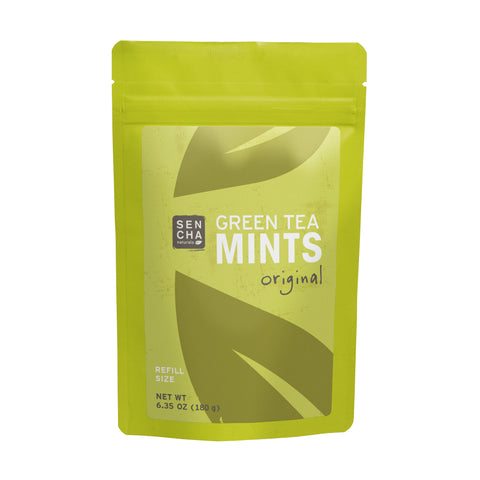 Original, Green Tea Mints, Refill Bag