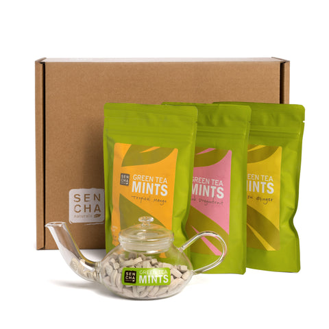 Teapot Gift Set, Choose Your Own Mint Flavors