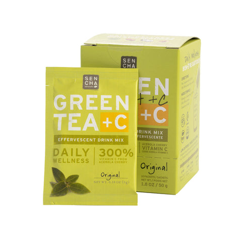 Original, Green Tea +C, Box of 10