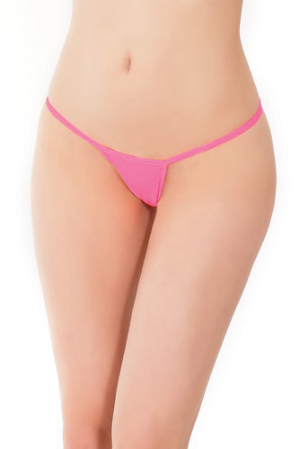G String Neon Pink O/S - The Spot Boutique