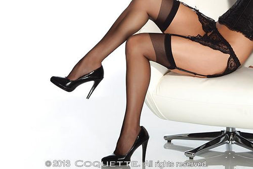Coquette Lingerie Sheer Thigh(Online Only)