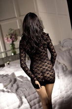 Load image into Gallery viewer, Fantasy Lingerie Vixen Long Sleeve Mini Dress O-S