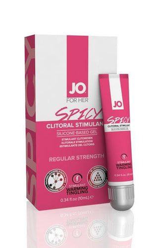 System JO Jo Spicy Clitoral Stimulant Regular Strength 10ml