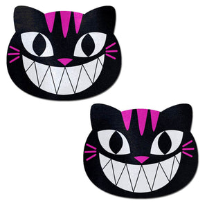 Pastease Pastease Black & Pink Cheshire Kitty Cat