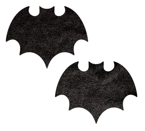 Pastease Pastease Liquid Black Bat Nipple Pasties