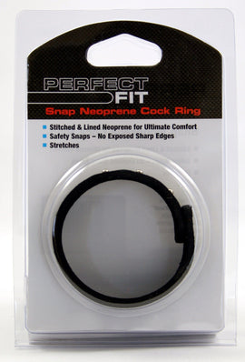 Perfect Fit Perfect Fit Neoprene Snap Cock Ring
