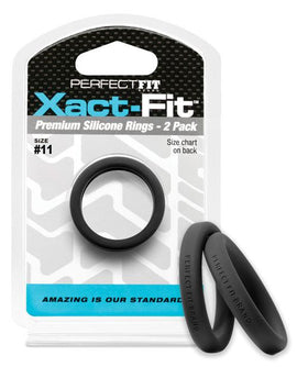 Perfect Fit Perfect Fit Xact-fit #11 2 Pk Black
