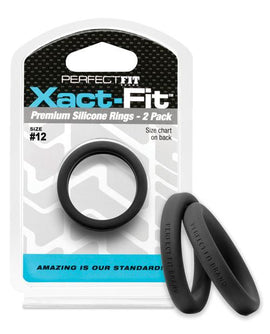 Perfect Fit Perfect Fit Xact-fit #12 2 Pk Black