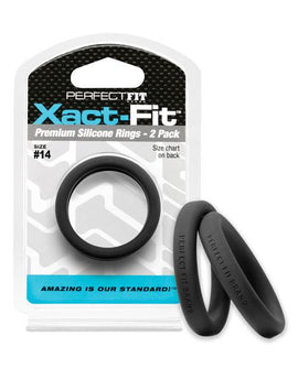 Perfect Fit Perfect Fit Xact-fit #14 2 Pk Black